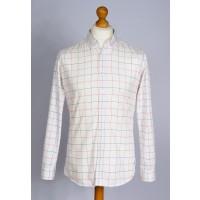 Chemise à carreaux Palam (Blanche)