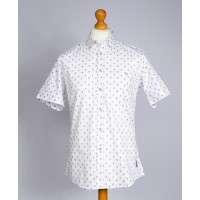 Chemise Palam manches courtes (Blanche)