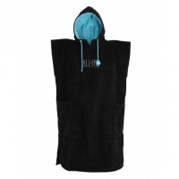 Poncho All-in Classic (Noir/Turquoise)