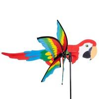 Girouette oiseau tropical