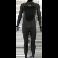 Combinaison de surf Alder Reflex 5/4/3 Back-Zip (Grise)