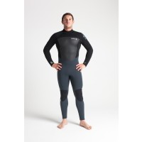 Combinaison C-Skins Legend 5/4/3 mm (Back-Zip) - Grise