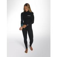 Combinaison de surf Femme C-Skins Surflite 5/4 mm (Noir/Bleu)