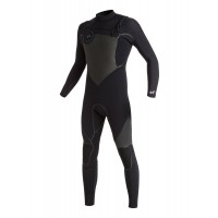 Combinaison de surf Quiksilver Syncro Plus 5/4/3 mm Chest-Zip (Noire)