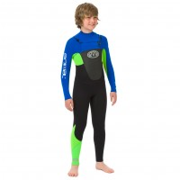 Combinaison enfant de surf Animal Lava 3/2 mm (FrontZip)