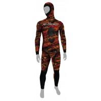 Combinaison Epsealon Red Fusion V2 (Veste 7 mm + pantalon 5 mm)