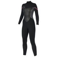 Combinaison Femme Prolimit Fire BackZip 5/3 mm (Noir/Rose)