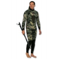 Combinaison Imersion Sériole Stretchy camo 7 mm (veste + pantalon haut)