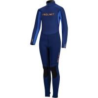 Combinaison de surf enfant Prolimit Grommet 5/3 mm (Bleu/Orange)