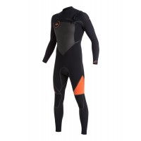Combinaison de surf Quiksilver Syncro Plus 5/4/3 mm Chest-Zip (Orange)