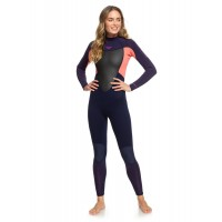 Combinaison de surf femme Roxy Prologue 3/2 mm (Corail)