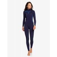 Combinaison de surf femme Roxy Syncro GBS 5/4/3 mm Front-Zip (Blue/Coral)