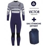 Combinaison Saint Jacques Wetsuits Victor 4/3 mm (+Sac étanche)