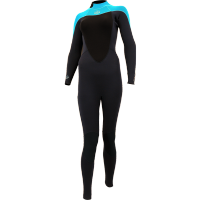 Combinaison de surf femme Alder Reflex 5/4/3 Back-Zip (Bleu)