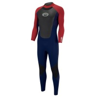 Combinaison de surf Animal Lava 4/3 mm Dark Navy (BackZip)