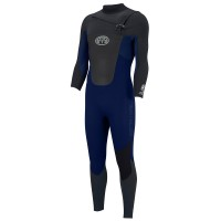 Combinaison de surf Animal Lava 5/4/3 mm Front-Zip (Dark Navy)