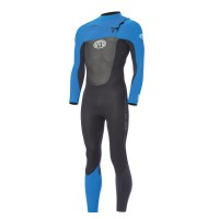 Combinaison de surf Animal Lava 3/2 mm FrontZip (Bleu)