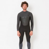 Combinaison de surf Animal Lava 5/4/3 mm Front-Zip (Black)