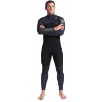 Combinaison Cskins ReWired 5/4 mm Front-Zip (Black)