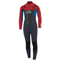 Combinaison de surf enfant Animal Lava 4/3 mm (FrontZip)