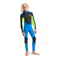 Combinaison de surf Enfant C-Skins Element 3/2 mm (Navy)