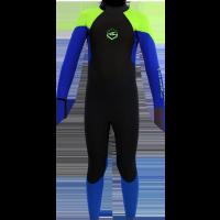 Combinaison de surf enfant Alder Stealth 5/4/3 (Vert/Bleu)