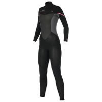 Combinaison femme Prolimit Fire-X 5/3mm Noir/Rose (Freezip)