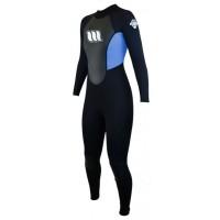 Combinaison de surf femme West Enforcer 4/3 mm GBS (Bleu)