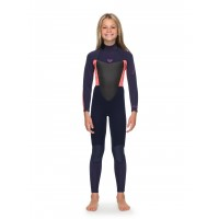 Combinaison de surf fille Roxy Prologue 4/3 mm (Corail)