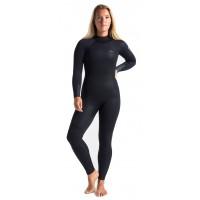 Combinaison de surf Femme C-Skins Surflite 5/4/3 mm (Raven)