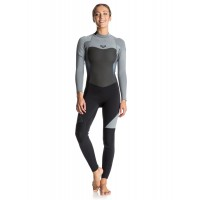 Combinaison de surf Roxy Syncro 5/4/3 mm Back-Zip (Grise)
