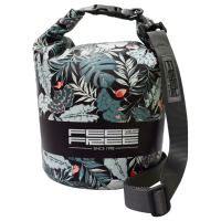 Sac Etanche Feelfree Dry Tube Black Tropical (15L.)