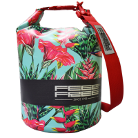 Sac Etanche Feelfree Dry Tube Teal Tropical (15L.)