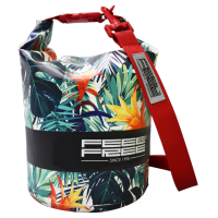 Sac Etanche Feelfree Dry Tube White Tropical (15L.)