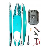 Paddle gonflable Sroka Pack Easy 12'6 + leash + pagaie
