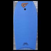 Bodyboard Flood Dynamx II EPS 41 (Blue/Palm Print) + leash