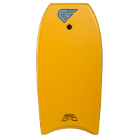 Bodyboard Flood Dynamx II EPS 40 (Orange/Palm Print) + leash