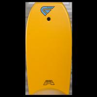 Bodyboard Flood Dynamx II EPS 42 (Red/Palm Print) + leash