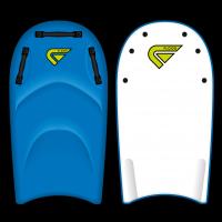 Bodyboard Flood Tandem EPS 45 (Bleu/Blanc) + leash