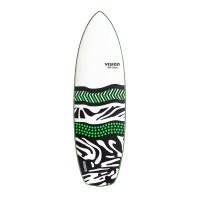 Planche de surf en mousse Vision 5'10 Foaminator + Leash