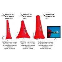 Gonfle/réserve de flotabilité RTM AV 8L Slalom