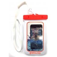 Pochette étanche Seawag pour smartphone (Orange/Blanc W5)