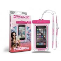 Pochette étanche Seawag pour smartphone (Blanc/rose W3x)