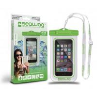 Pochette étanche Seawag pour smartphone (Blanc/vert W4x)