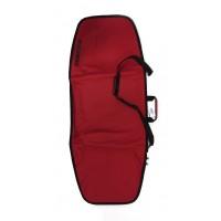 Housse de transport pour planche de wake et planche de kite 135cm (Rouge)