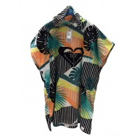 Poncho Roxy Pass This On Again (Floral)