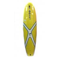 Planche de surf en mousse Exocet Revo HCS 7'0 (Jaune)