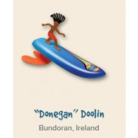 "Surfeur miniature Surfer Dudes ""Donegan"" Doolin"
