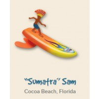 "Surfeur miniature Surfer Dudes ""Sumatra"" Sam"