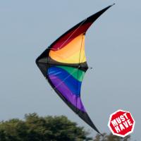 Cerf-volant Nunchaku Rainbow